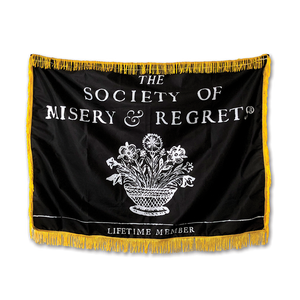 The Society of Misery & Regrets® Tapestry
