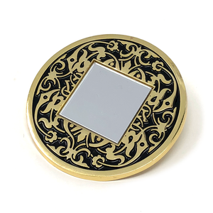Ornate Mirror Pin