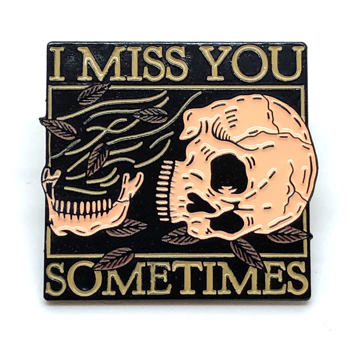 Miss You Lapel Pin