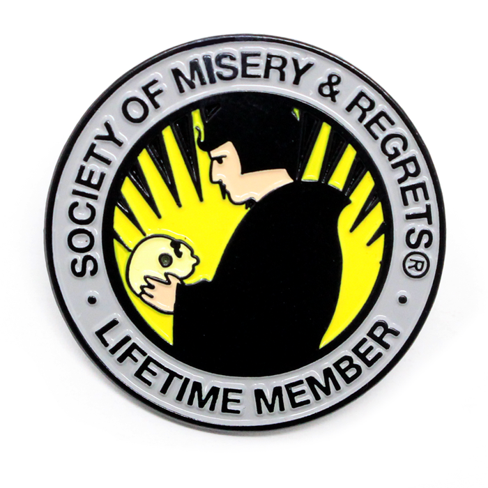 Misery & Regrets Lapel Pin