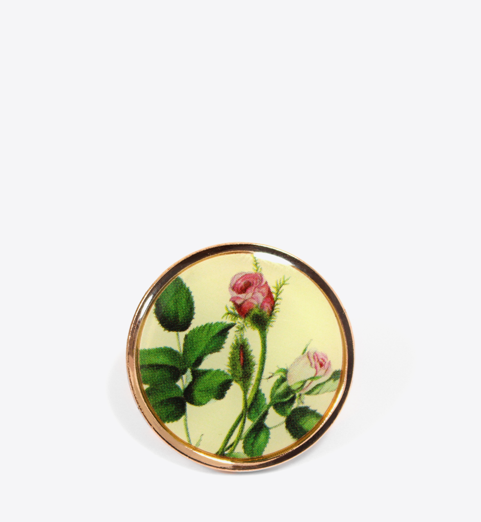 MP ROSES LAPEL PIN - BALL & CHAIN CO.