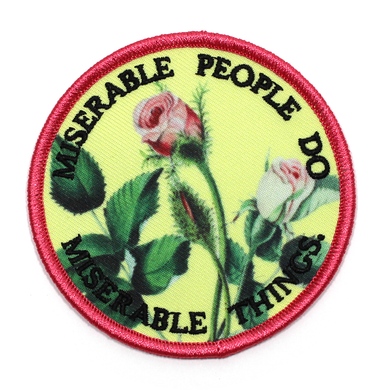 Miserable People Patch