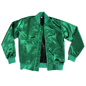 Not Your Bitch Satin Bomber