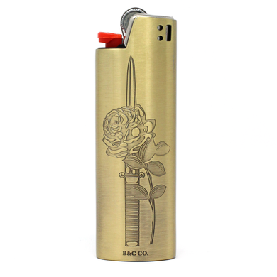 Rose Dagger Lighter Case