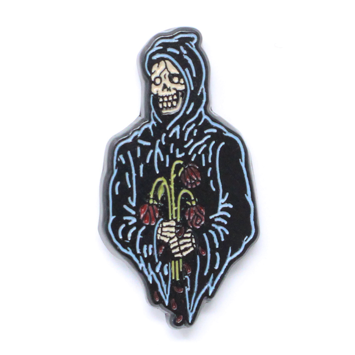 Reaper Rose Lapel Pin