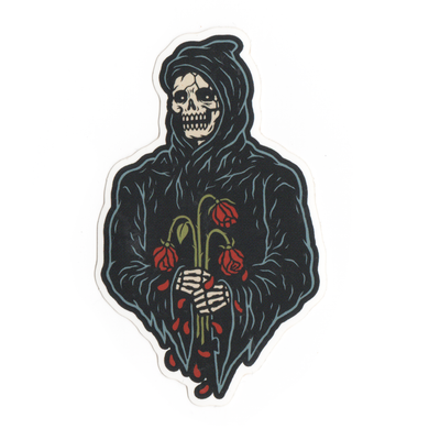 Reaper Rose Stickers