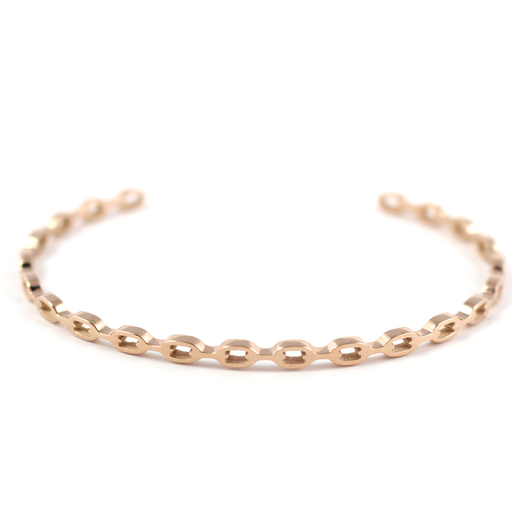 Chain Link Bangle - Rose