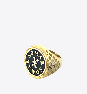 Sovereign Ring Black/Gold