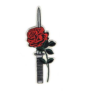 Rose Dagger Patch