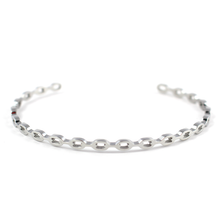 Load image into Gallery viewer, Chain Link Bangle - Silver