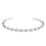 Chain Link Bangle - Silver