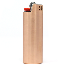 Load image into Gallery viewer, Rose Gold Lighter Case