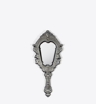 ANTIQUE SILVER MIRROR PIN - BALL & CHAIN CO.