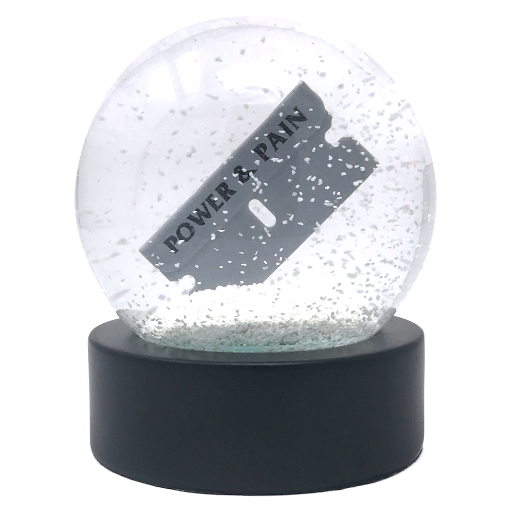 Power & Pain Snow Globe