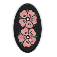 Stacked Flowers Patch