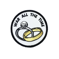War All The Time Patch - BALL AND CHAIN CO.