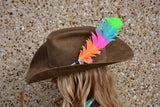 Jaylee Large Hat Feather