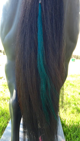 Gussied Up Green Tails