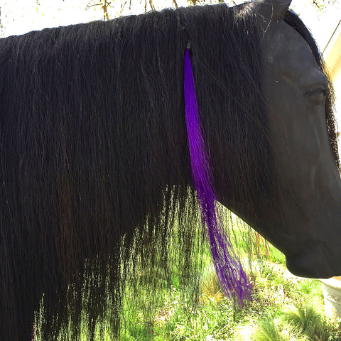 Purple Glam Mane