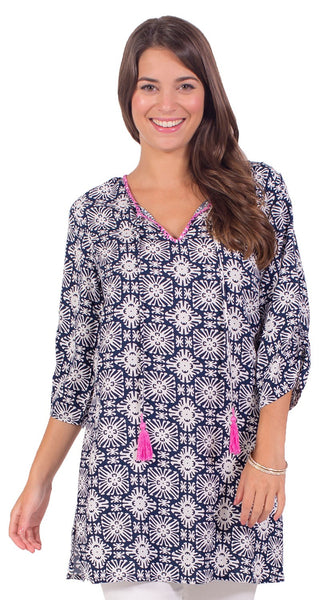 3/4 Sleeve Dottie Top
