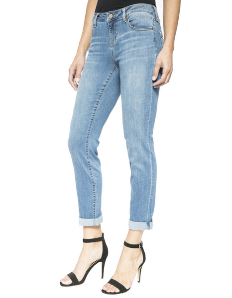 Liverpool Slim Boyfriend Rolled Jean