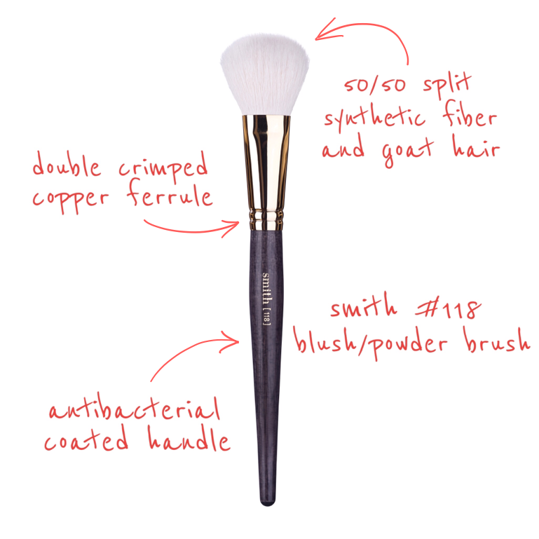 118 Blush/Powder Brush