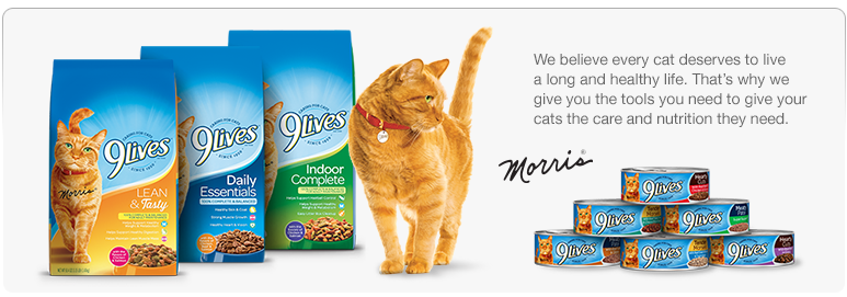 With Decades Of Experience 9 Lives Has Perfected The Mix Healthy And Tasty Cat Food Made Real Meat Many Vitamins