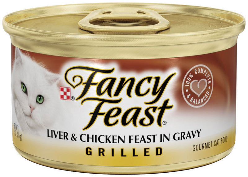 Fancy Feast Grilled Liver and Chicken Canned Cat Food