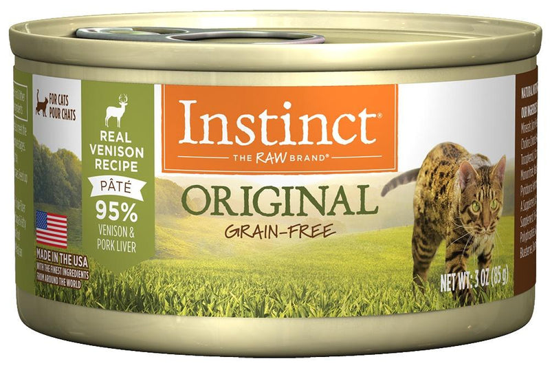 Instinct Grain-Free Venison Formula Canned Cat Food