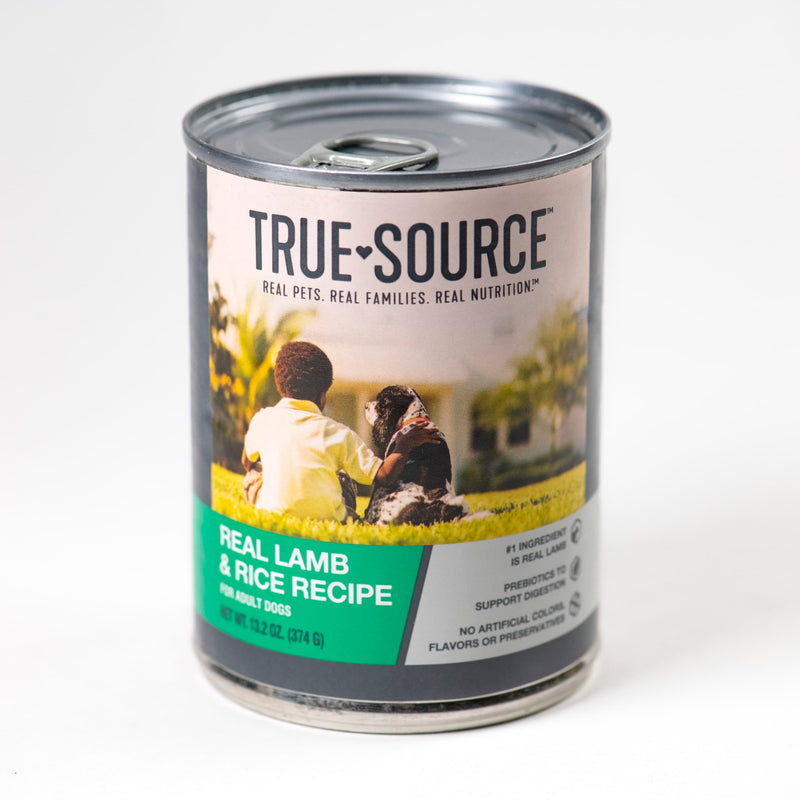 True Source Original Lamb & Rice Formula Dog Food, 13.2 oz.