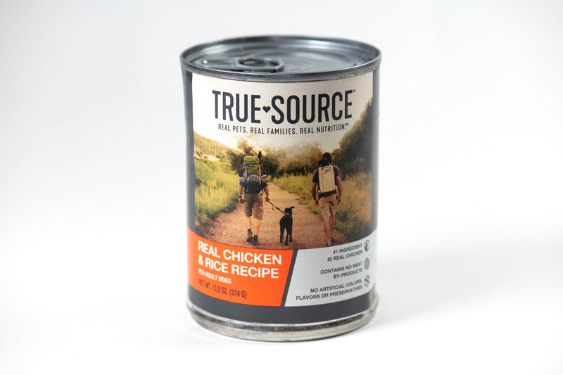 True Source Original Chicken & Rice Formula Dog Food, 13.2 oz.
