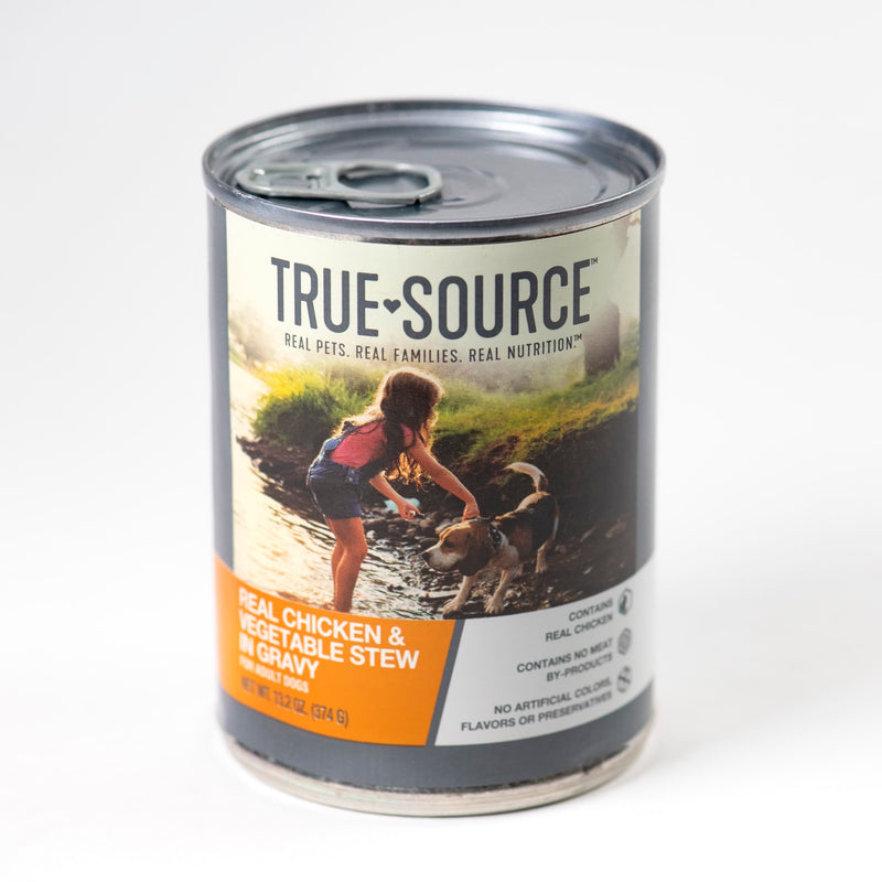 True Source Original Chicken & Vegetable Stew for Dogs, 13.2 oz.