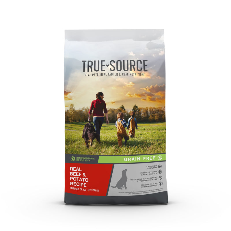True Source Grain-Free Beef & Potato Dog Food, 4 lb.