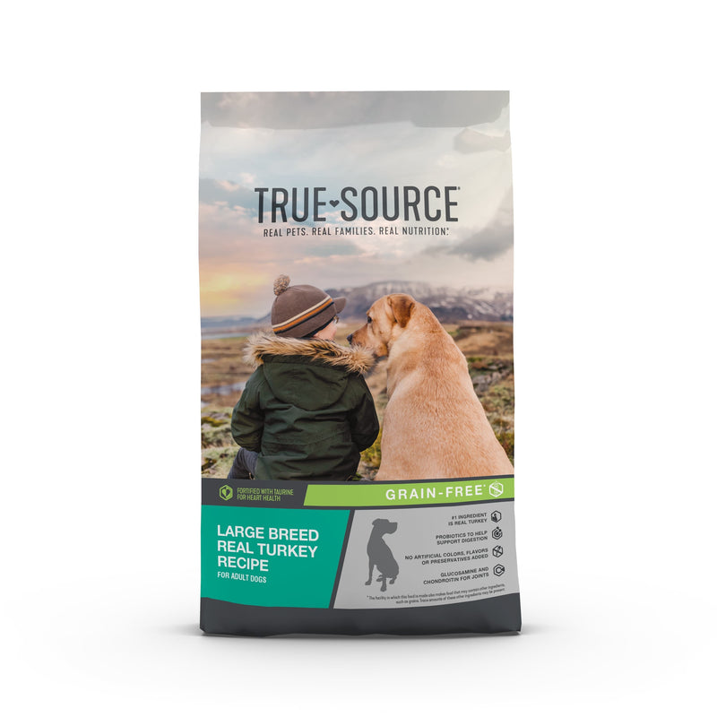 True Source Grain-Free Large Breed Dry Dog Food, 30 lb. Bag