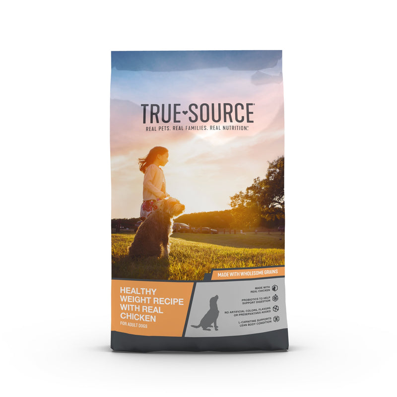 True Source Original Healthy Weight Formula Adult Dog Food, 35 lb. Bag