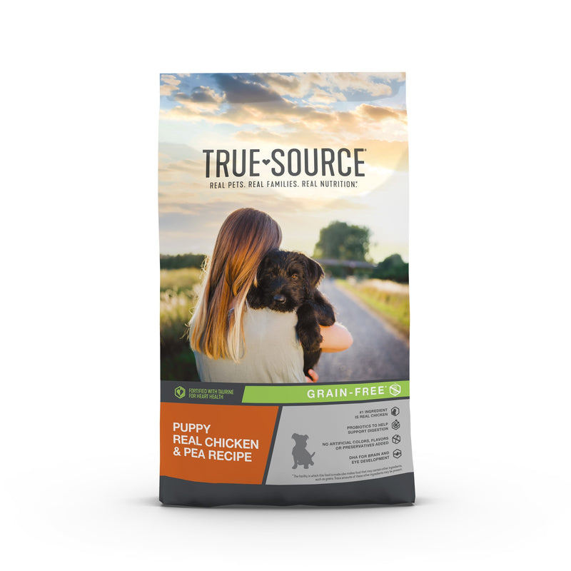 True Source Grain Free Puppy Dog Food, 4 lb. Bag