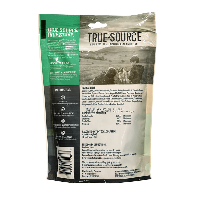 True Source Lamb & Sweet Potato Jerky Strips