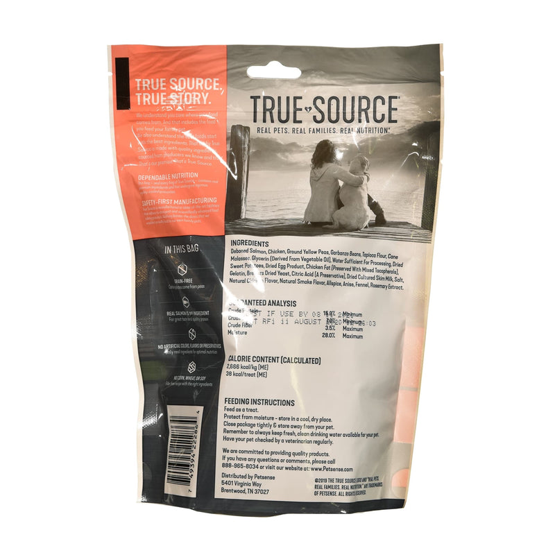 True Source Untamed Salmon & Sweet Potato Jerky Strips