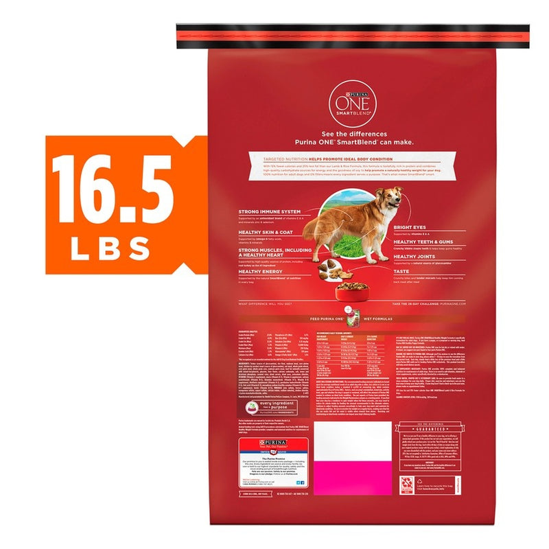 Purina ONE SmartBlend Healthy Weight Turkey Formula Dry Dog Food
