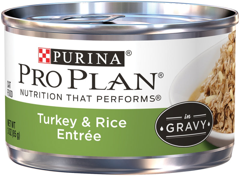 Purina Pro Plan Savor Adult Turkey & Rice Entree Canned Cat Food