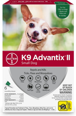 K9 Advantix II Small Dog