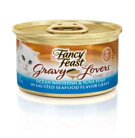 Fancy Feast Gravy Lover Whitefish Canned Cat Food