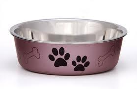 Loving Pets Grape Bella Bowl