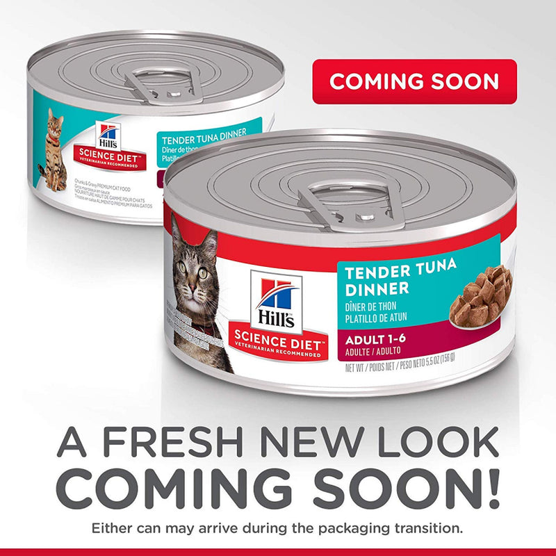 Hill's Science Diet Adult Tender Tuna Dinner Canned Cat Food