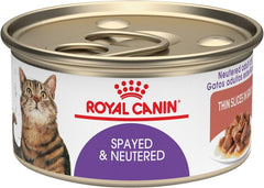 Royal Canin Spayed or Neutered Thin Slices in Gravy Canned Cat Food