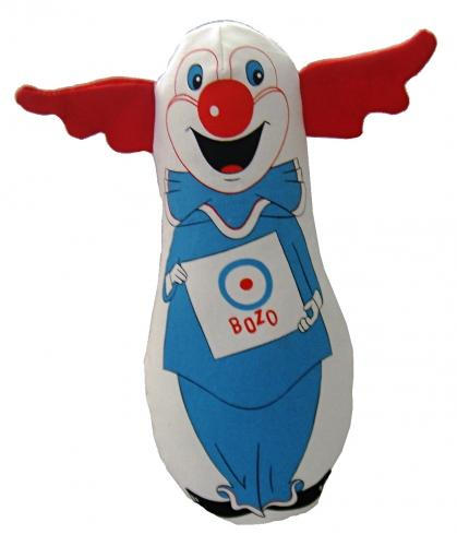 MultiPet Bozo the Clown Dog Toy