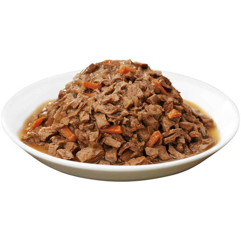 Purina Pro Plan Savor Adult Beef Entree in Gravy with Carrots Canned Cat Food