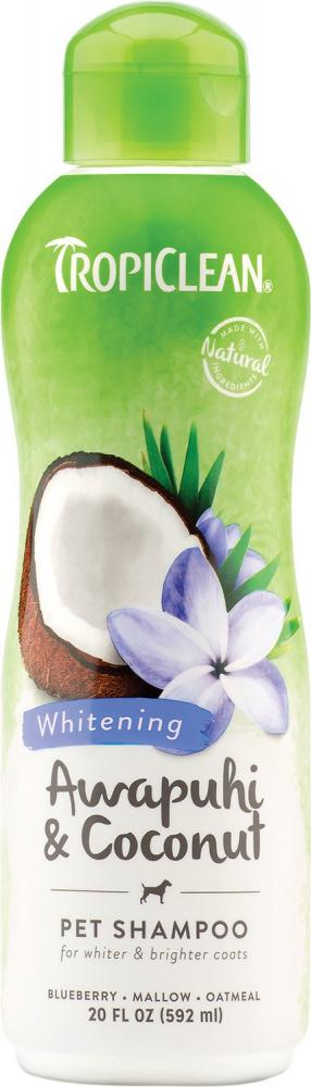 Tropiclean Awapuhi & Coconut White Coat Pet Shampoo