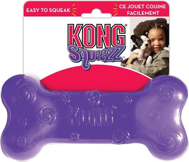 KONG Squeezz Bone Dog Toy