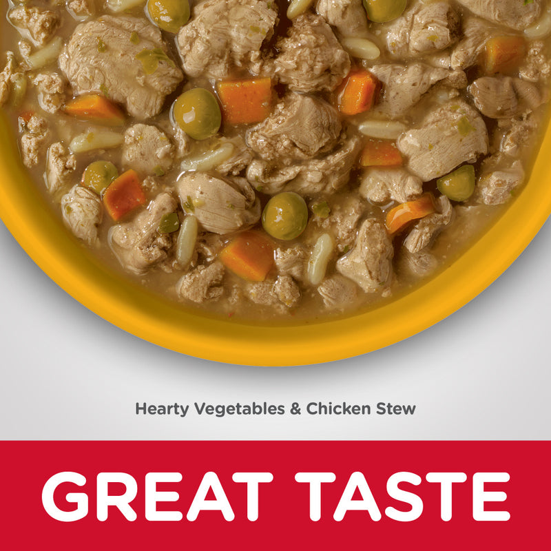 Hill's Science Diet Adult Perfect Weight Hearty Vegetable & Chicken Stew Canned Dog Food